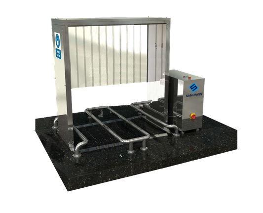 Trolley, Shopping Cart, Stretcher and Wheelchair Disinfection Cabinet