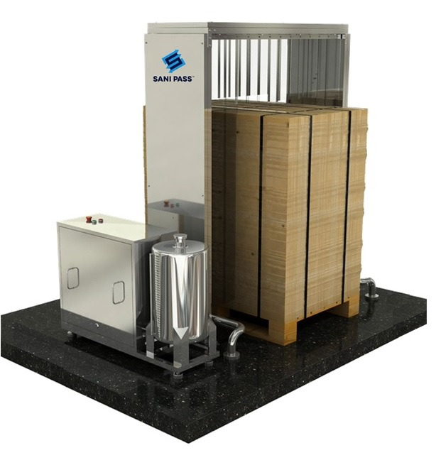 Cargo and Package Disinfection System