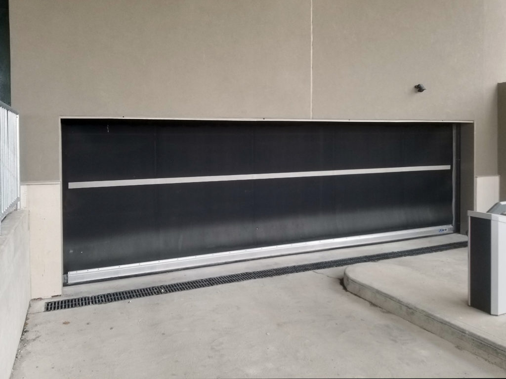 Perimeter Development Corporation – Low Headroom Parking Garage Rubber Door