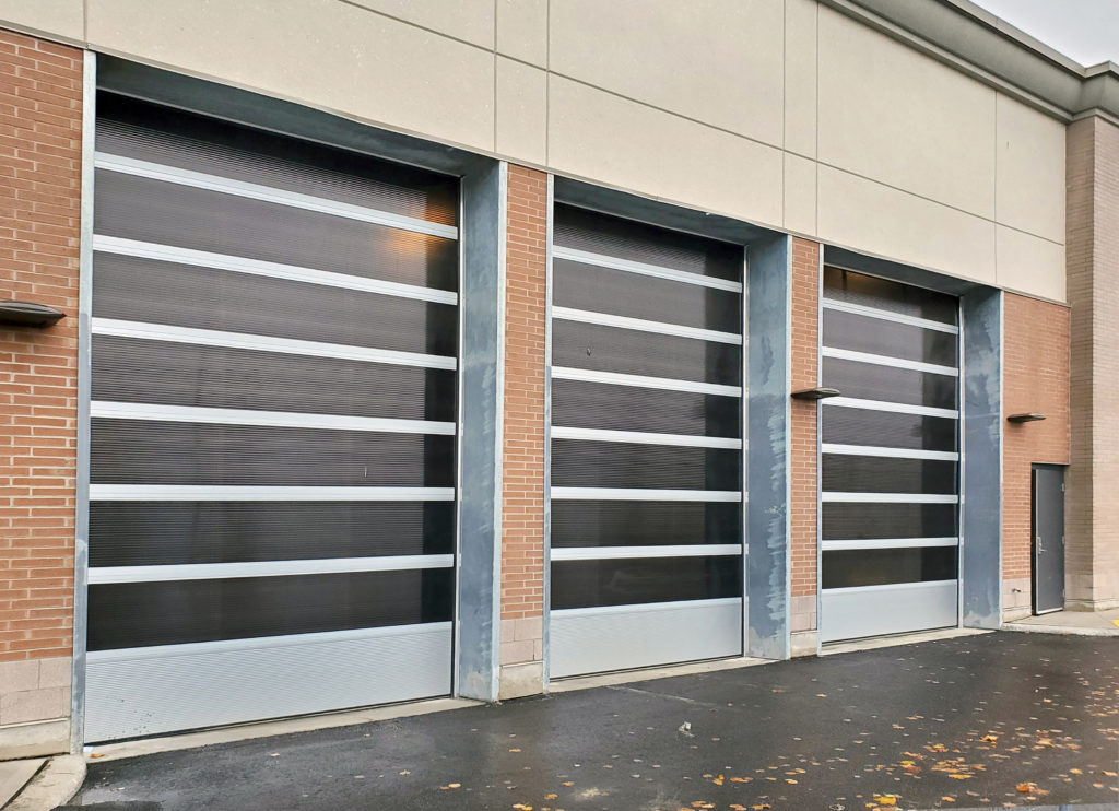 Stone Road Mall – Polycarbonate Doors