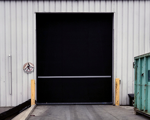 Manufacturing Plant – Heavy Duty High Cycle Rubber Door