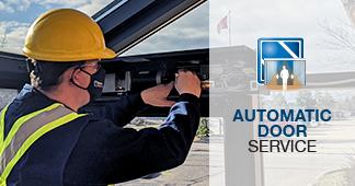 commercial automatic door repair service maintenance