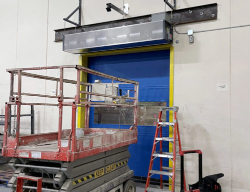 Hughes Decorr – High-Speed Roll-Up Door and Air Curtain