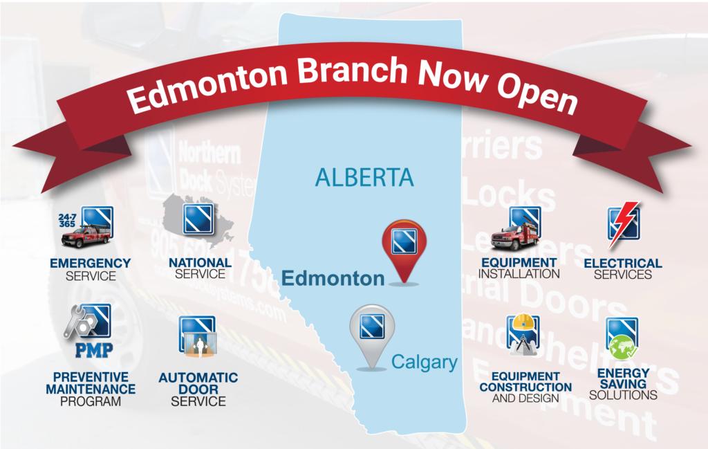 New Branch in Edmonton, Alberta