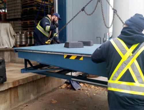Henderson Brewing Co – Mechanical Dock Leveler