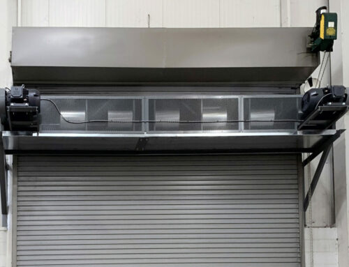 PWO Canada – Air Curtain for a Large Door