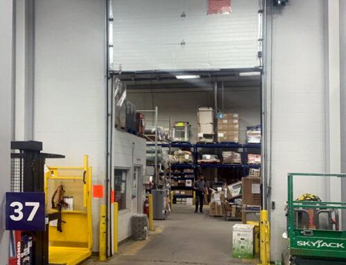 Lowe's Edmonton – Overhead Door Preventive Maintenance
